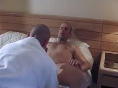 Spicy ass hammering adventure with studs in sleazy hotel room