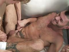 Perverted high class muscled porn hunks pumping hardcore anal