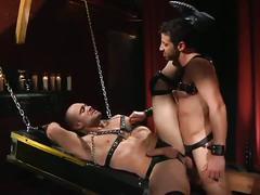 Hardcore bdsm bondage ass fucking