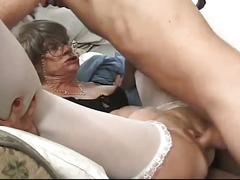 big dick, blowjob, gang bang, granny, hardcore, old & young, 4 on 1, big cock, deepthroat, doggy style, gagging, missionary, old woman young man, reverse cowgirl, rough fuck