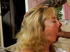Stiff young boner bashing enormous tits naughty milf