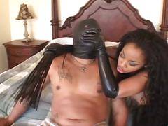 Anal ebony diva fucked in the penthouse