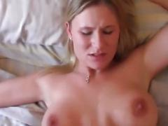 Hot busty blonde enjoy hardcore sex