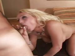 Amateur sex movie-the blonde innocent looking drilled by a hard cock