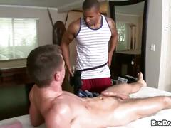 Supreme anal pounding after sizzling hot massage with handjob