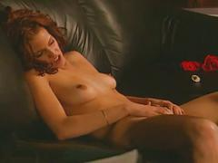 Extreme sex-two young brunette lesbians toying and licking pussy
