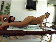 Extreme hardcore sex-two cute lesbians toying and fingering pussy