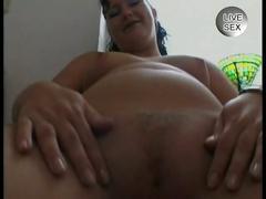 brunette, masturbation, milf, pussy, solo, black hair, masturbating, mom, posing, shaved pussy, striptease, teasing, tight pussy