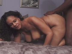 Thick and black boner drilling massive tits ebony slut
