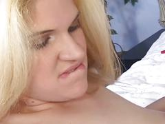 Young lesbian college babes fingering and licking each other