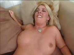 Busty mature milf with hairy pussy