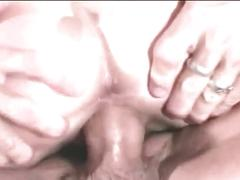Teen babe fucked hard by a stiff cock