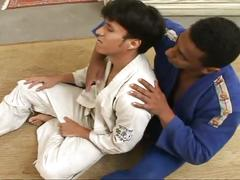 Latino karate dudes hot anal pounding