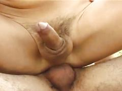Latino twinks fucking and facial outside