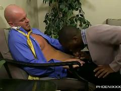 Jp richards and mitch vaughn suck and fuck in the office