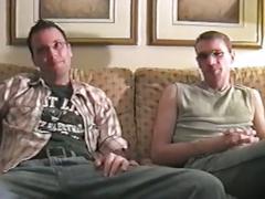 Amateur hunk fucks big cock bareback