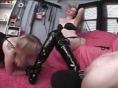 Slave biatch and male bound and tortured to sexual satisfaction