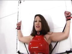 Lesbian punishment and training !