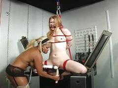 bdsm, blonde, toys, maxine x, bondage, dildo, forced, humiliation, mistress, slave, torture, whip
