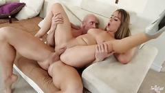 Ella milano gets her moist pussy fucked