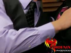 Lustful fucking in office with mike manchester and tony hunter