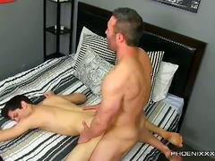 Lustful daddy and son fucking with aiden summers and brock landon