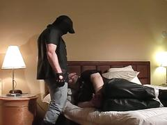 Daddy shadow hot bdsm bondage face fucking