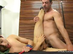 Daddy banging son fun with giovanni lovell and mike manchester
