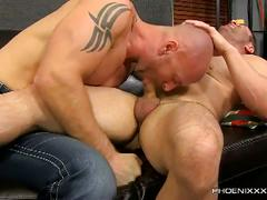 Sexy dilf hunks brock landon and mitch vaughn hot ass pounding