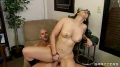 Valerie kay gets pounded with a big cock