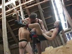 Hardcore bdsm anal fisting and sex swing