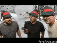 Hoe! hoe! hoe! merry fuckin' santa
