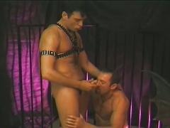 Gates of hell as these muscled bondage studs fuck anal hardcore
