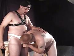 Hot pig daddies enjoying hardcore holes pounding master and slave