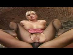 blonde, fetish, hardcore, pussy, stockings, camel toe, cowgirl, doggy style, fishnets, masked, masked slave, missionary, platinum blonde, reverse cowgirl, rough fuck, shaved pussy, spoon, tight pussy, trimmed pussy