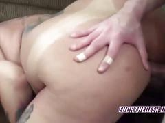 Chubby lexxi getting pounded in her mature twat