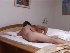 Spunk starving cute twinks whacking tight ass holes before sleep