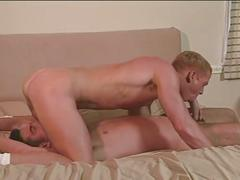 Muscled hunks hot 69 and ass pounding