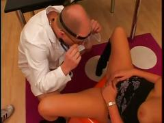Beautiful blonde gets her pussy fucked hard and deep by a hot dude