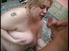 Bbw blonde fucked hard by a hot dude