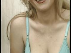 Cum loving busty blonde milf whore opens wide for big young dick