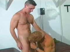 Muscled military hunks pumping ass holes in fiery anal encounter