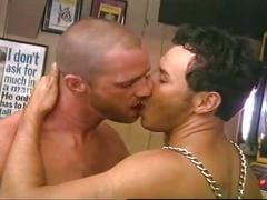 Leather wearing studs hot cock sucking