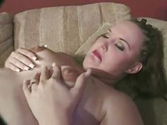 Chubby milf gets fucked and lactates for her black stud