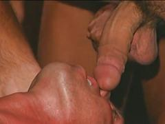 Delightful muscled studs gather in supreme anal bashing orgy