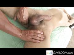 Oily noah springs hot anal massage