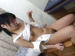 asian, big ass, brunette, hairy pussy, hardcore, black hair, doggy style, japanese, nice ass, piledriver