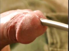 Yummy young military stud tied up and played by horny master
