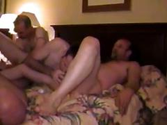 Awesome group anal nailing adventure with horny muscled studs