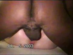 Amateur wife gangbanged by black men on her anniversary